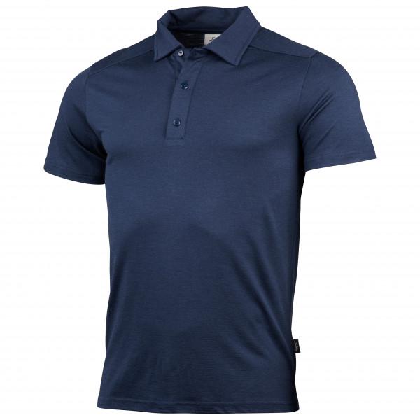 Lundhags - Gimmer Merino Light Polo Tee - Polo Shirt Size M  Blue/black