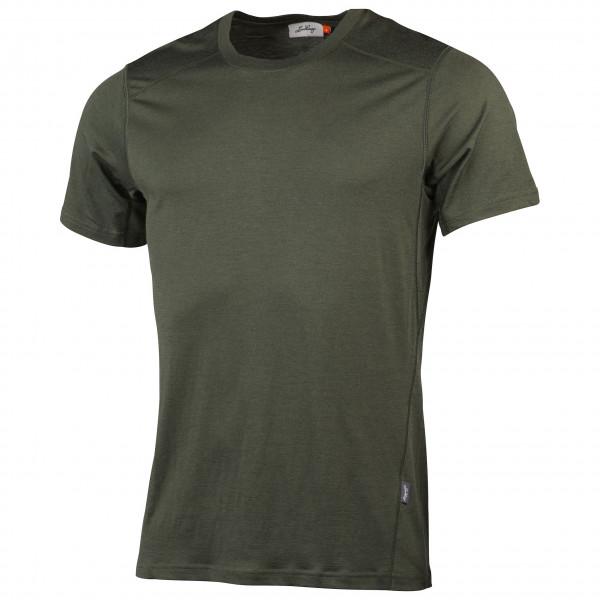 Lundhags - Gimmer Merino Light Tee - T-shirt Size S  Olive/black