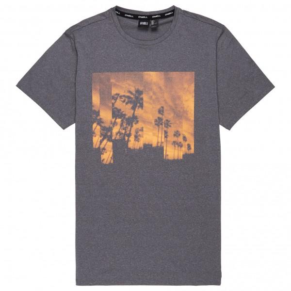O´Neill - Palmtree Hybrid T-Shirt - Funktionsshirt Gr M grau