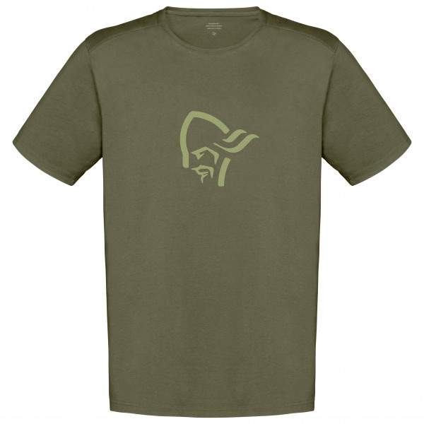 Norrøna - /29 Cotton Viking - T-Shirt Gr L oliv 3428-19 3301 L