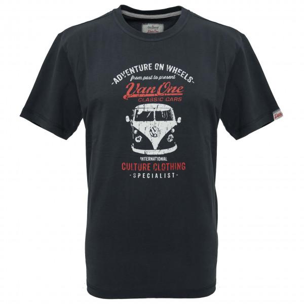 Van One - Bulli Front VW Bulli T-Shirt Gr S schwarz