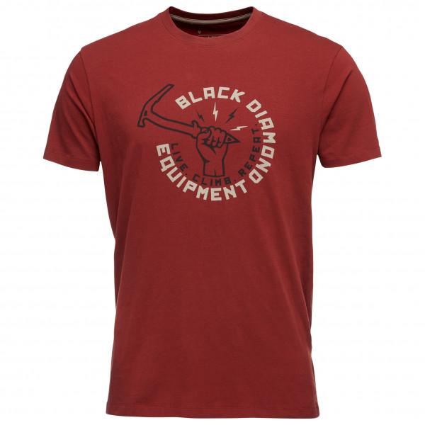 Black Diamond - Hammered Tee - T-Shirt Gr XS rot