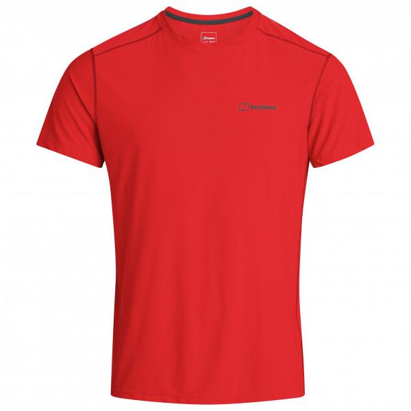 Berghaus - 24/7 Tech Basecrew S/s - Sport Shirt Size S  Red