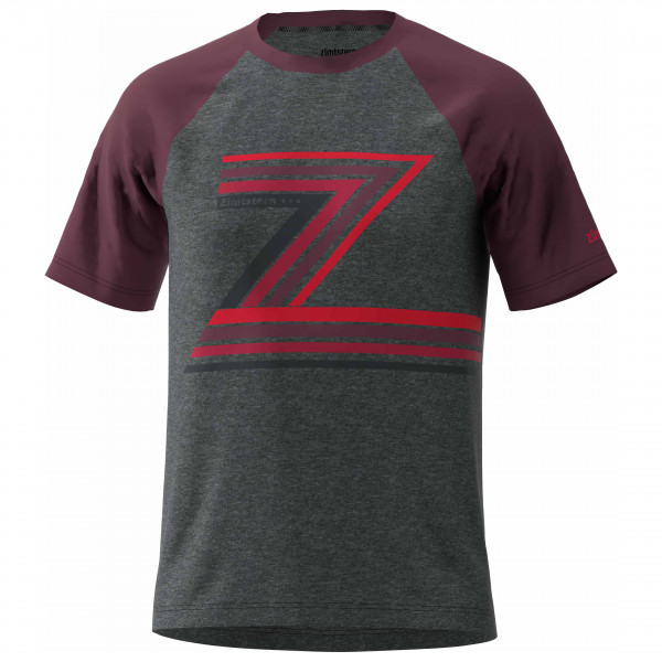 Zimtstern - The-Z Tee - T-Shirt Gr L;M;S;XL;XXL schwarz;schwarz/lila M20021