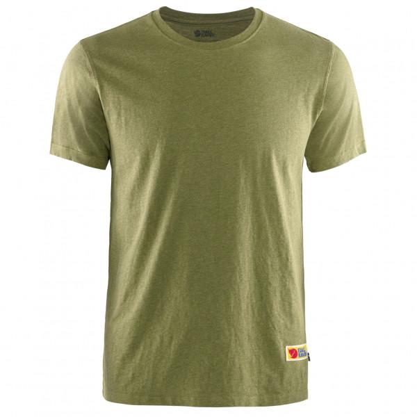 #Fjällräven – Vardag T-Shirt – T-Shirt Gr S oliv/beige#