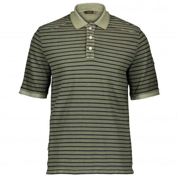 #Powderhorn – Pique Polo Shortsleeve – Polo-Shirt Gr XXL oliv/grau/schwarz#