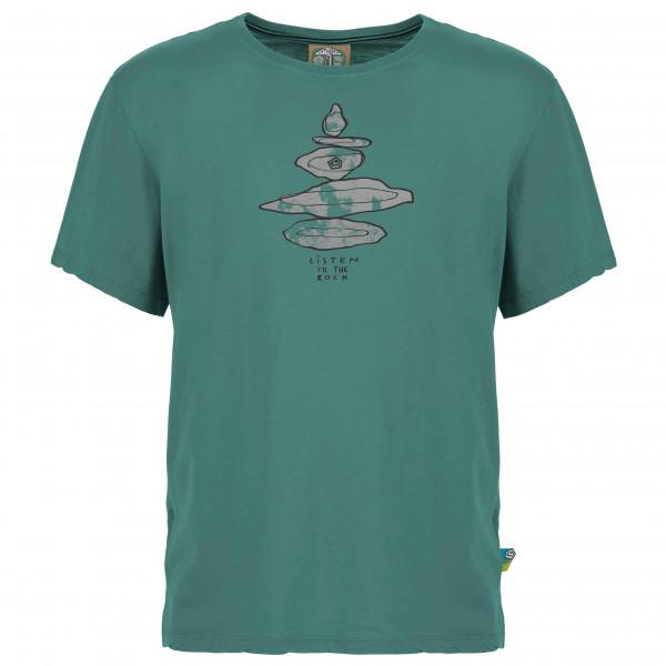 E9 - Equilibrium - T-Shirt Gr M;S;XL;XS blau/grau;oliv;orange;rot;türkis EQUILIBRIUM-S20
