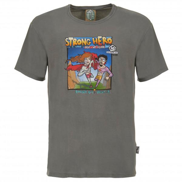 E9 - M Strong Hero - T-Shirt Gr L;M;S;XL;XS grau M STRONG HERO-S20
