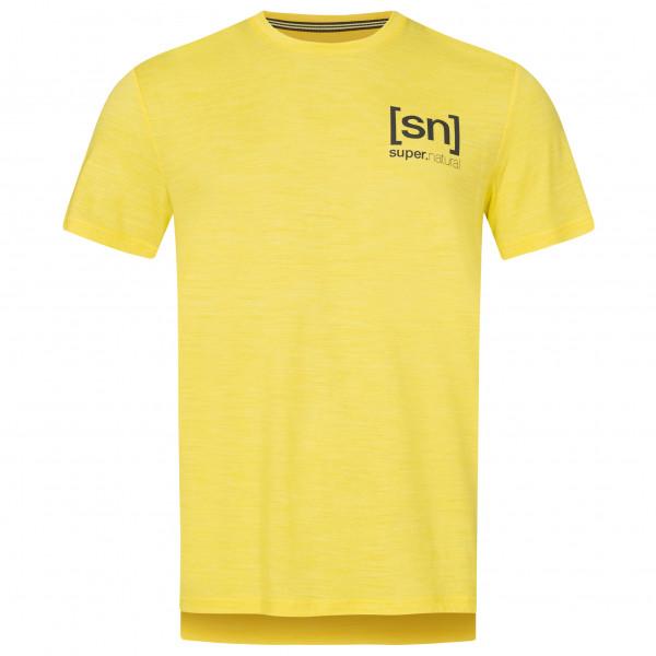 #SuperNatural – Active Tee – Funktionsshirt Gr M orange#