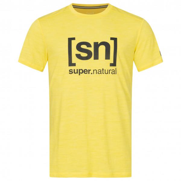 #SuperNatural – Logo Tee – T-Shirt Gr M orange#