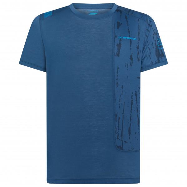 La Sportiva - Lead T-shirt - Sport Shirt Size M  Blue