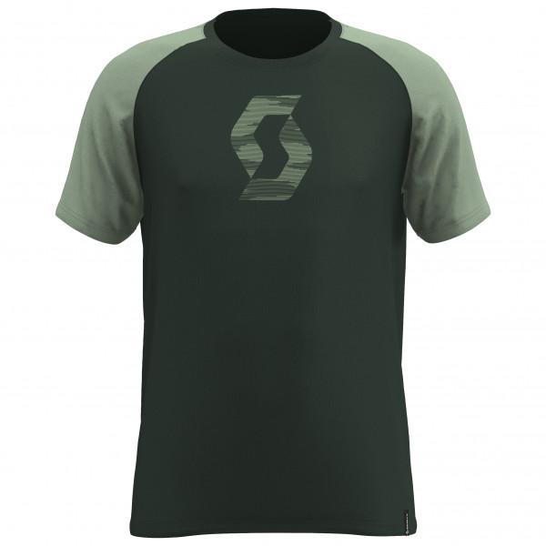 Scott - Tee 10 Icon Raglan S/s - T-shirt Size Xxl  Black