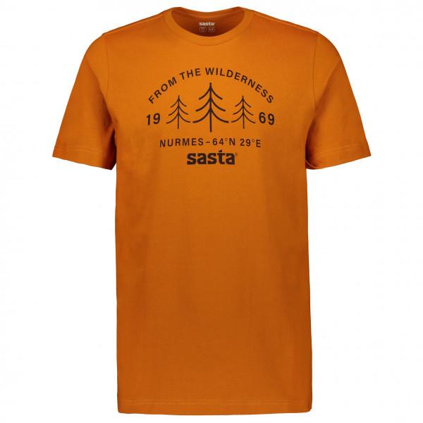 Sasta - Wilderness - T-Shirt Gr L braun/orange 07-3039 -1301-1