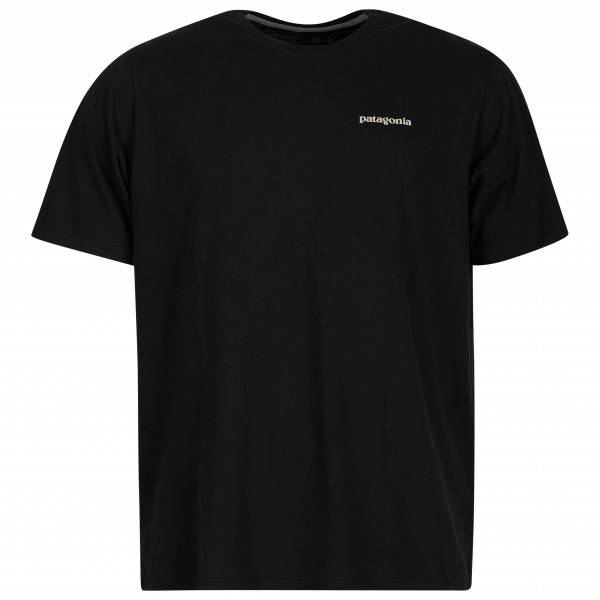 Patagonia - Flying Fish Organic - T-shirt Size S  Black