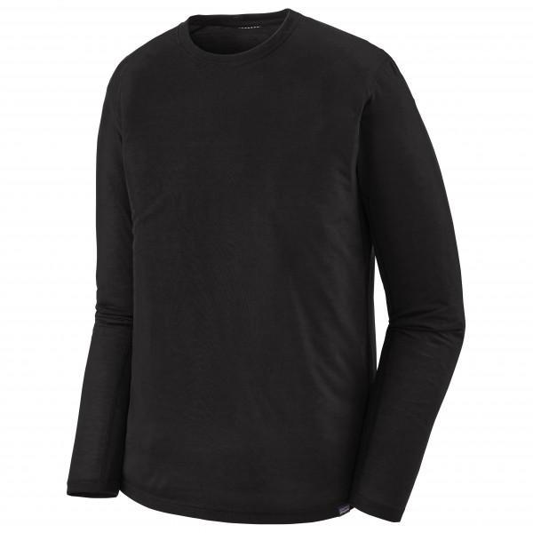 Patagonia - L/s Cap Cool Trail Shirt - Sport Shirt Size S  Black