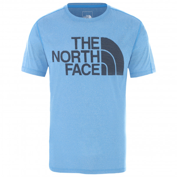 The North Face - Flight Better Than Naked S/s - Sport Shirt Size M  Grey/blue