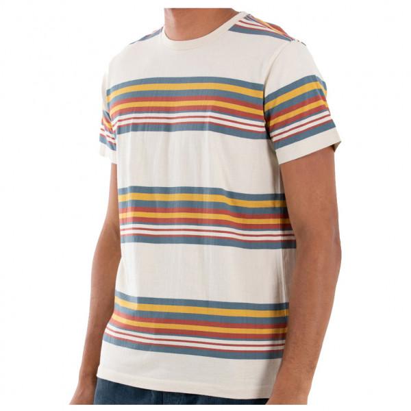 #Katin – Barry Knit – T-Shirt Gr M weiß/grau/braun#