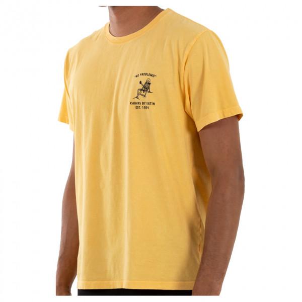#Katin – Lazy Leroy Tee – T-Shirt Gr S orange/braun#