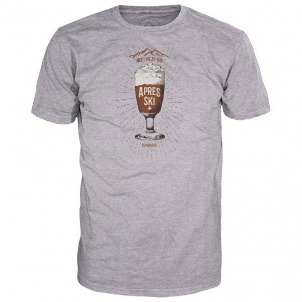 Alprausch - Kafi Schnaps - T-Shirt Gr L;M;S;XL grau 70016
