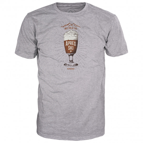 Alprausch - Kafi Schnaps - T-Shirt Gr L;M;S;XL;XXL grau 70016