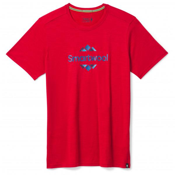 Smartwool - Merino Sport 150 Smartwool Logo Graphic - T-Shirt Gr L rot SW016292B951.  L