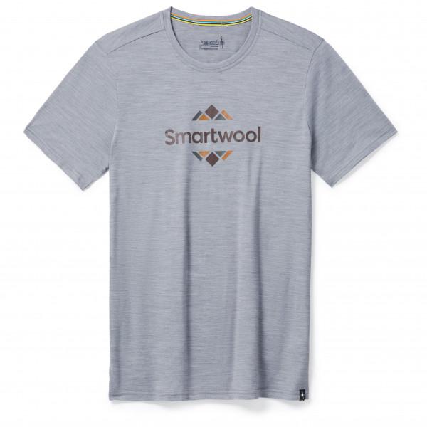 Smartwool - Merino Sport 150 Smartwool Logo Graphic - T-Shirt Gr XL grau SW0162925451.  XL