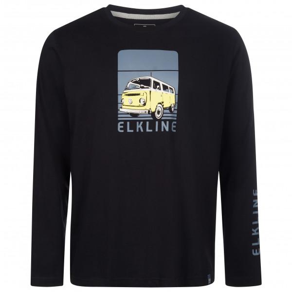 Elkline - Hot Seat - Haut à manches longues taille M, noir