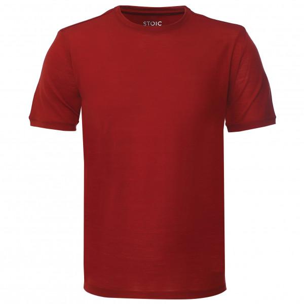 Stoic - T150 Merino S/S JokkmokkSt. - T-Shirt Gr XL rot 7850970322