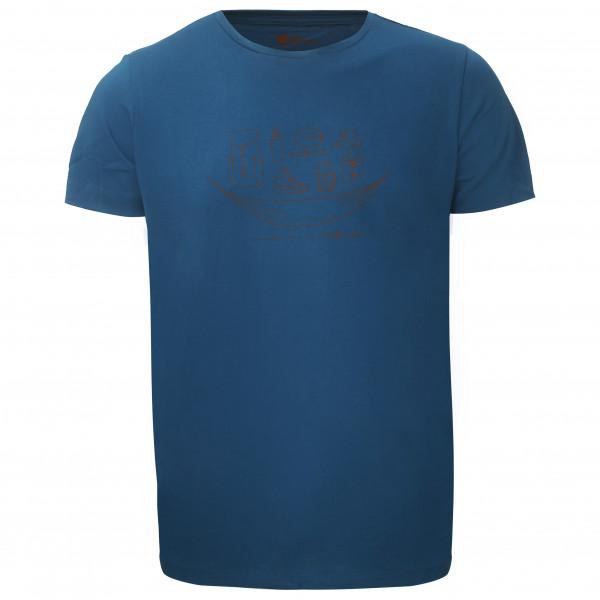 Bergfreunde.de - HochfirstBF. - T-Shirt Gr 3XL rot/braun/blau 7850940042