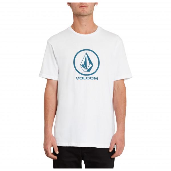 volcom - crisp stone bsc s/s - t-shirt maat s, wit