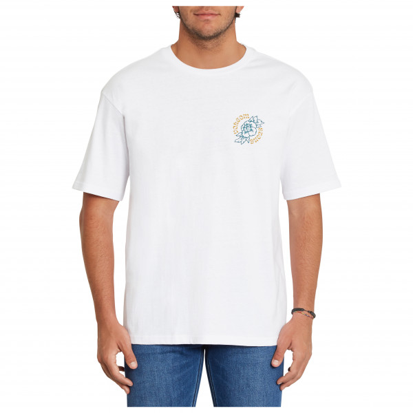 Volcom - Gridlock Lse S/s - T-shirt Size L  White