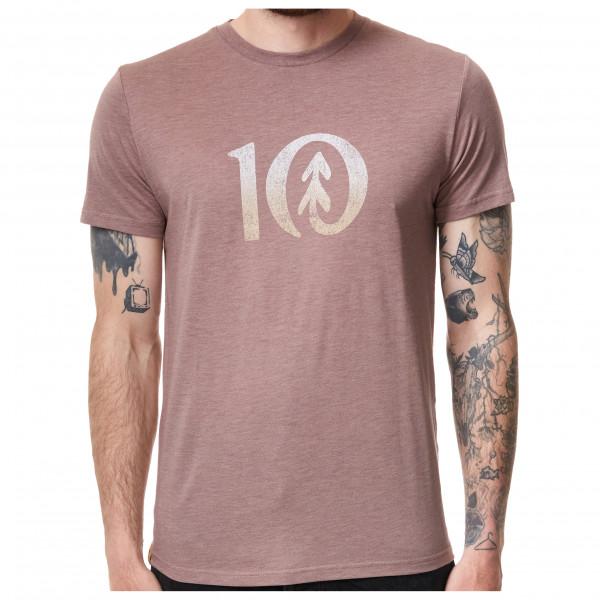 Tentree - Gradient Ten T-shirt Size S  Grey/sand