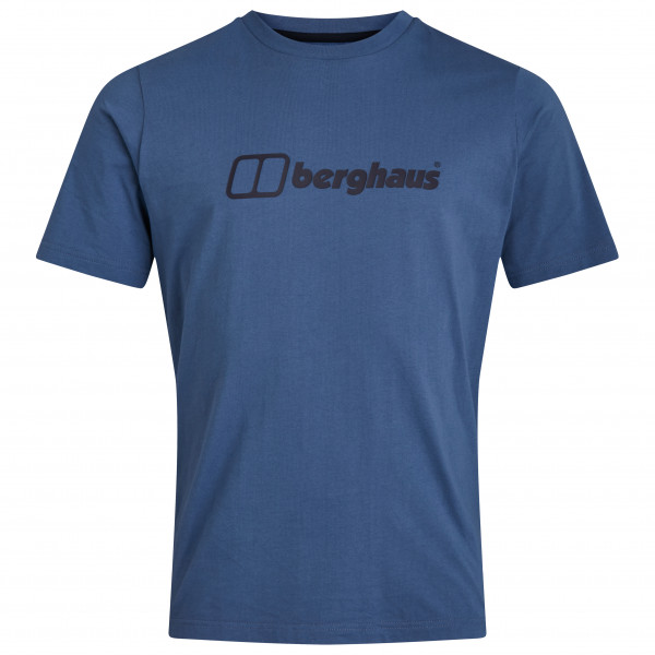 Berghaus - Big Colour Logo S/s Tee - T-shirt Size M  Blue
