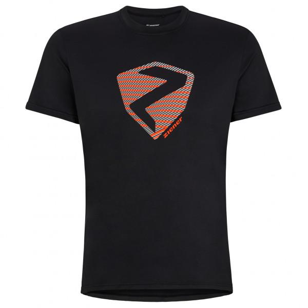 Ziener - Nolaf T-shirt - Sport Shirt Size 58  Black