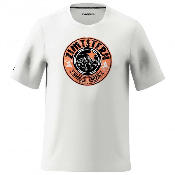 Zimtstern - Bullz Tee - T-Shirt Gr L grau/weiß M20014-9003-04