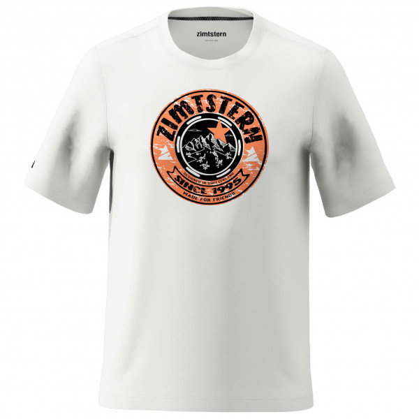 Zimtstern - Bullz Tee - T-Shirt Gr XL grau/weiß M20014-9003-05
