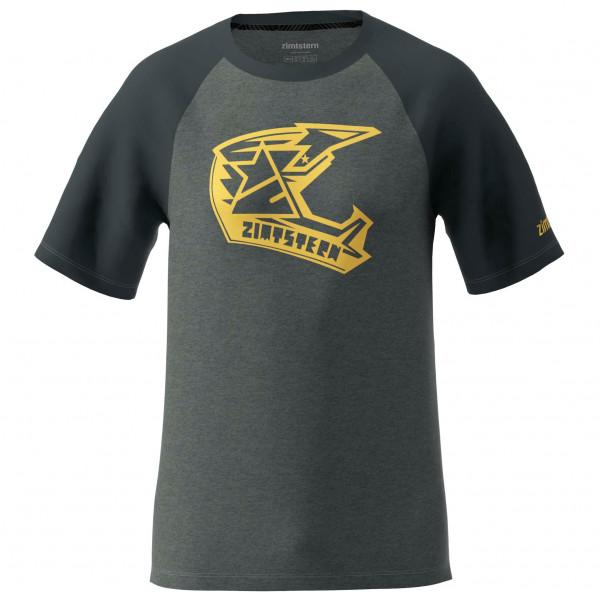 Zimtstern - Faze Tee - T-Shirt Gr M schwarz/grau M20023-2008-03