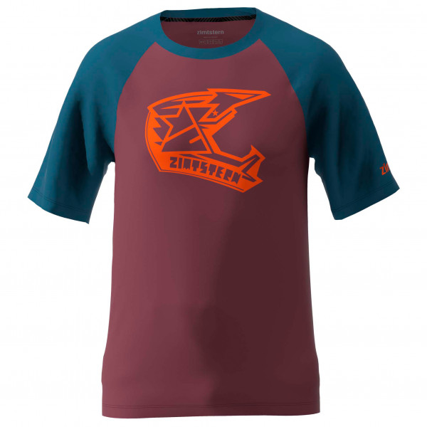 Zimtstern - Faze Tee - T-Shirt Gr S rot/lila/blau M20023-5013-02
