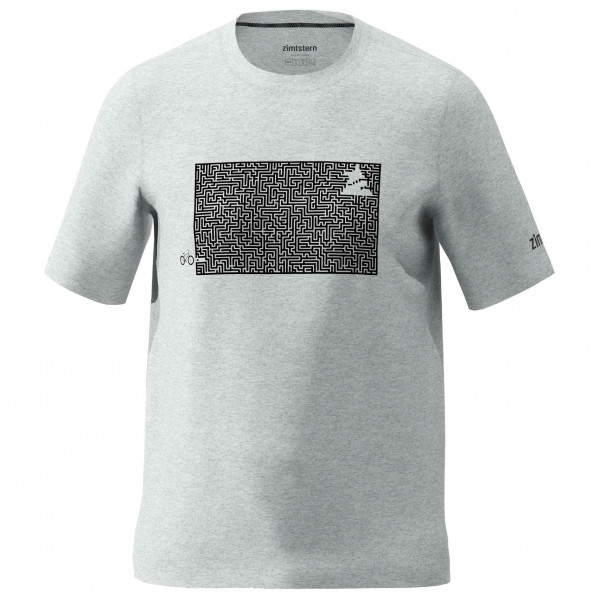 Zimtstern - Shiningz Tee - T-Shirt Gr XXL grau M20013-2014-06