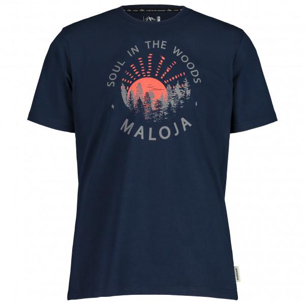 Maloja - Heckenkirschem. - T-shirt Size M  Black/blue