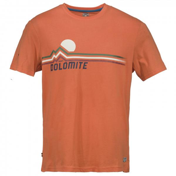 Dolomite - T-shirt Chienes - T-shirt Size L  Orange/red