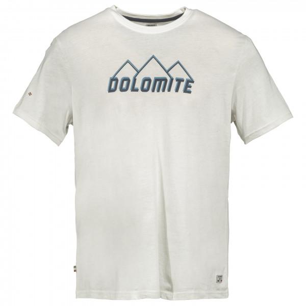 Dolomite - T-shirt Logo - T-shirt Size L  White/grey