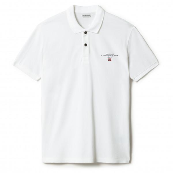 Napapijri - Elbas 4 - Polo Shirt Size S  White/grey