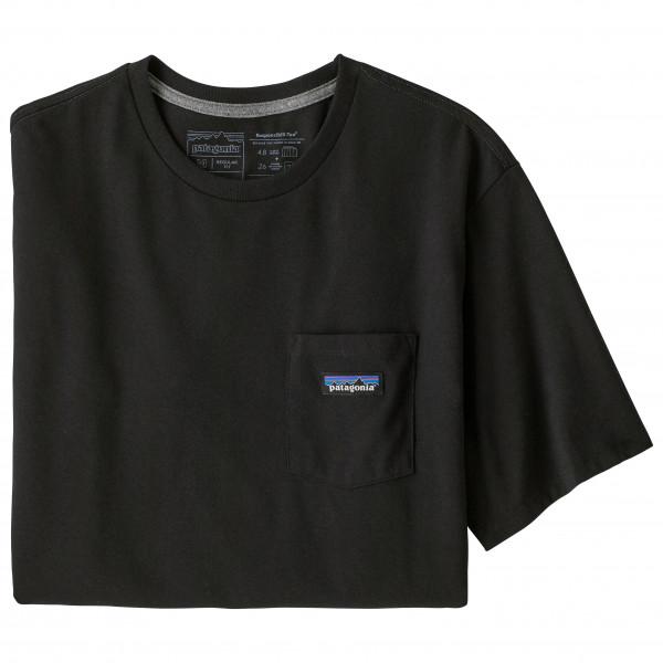 Patagonia - P-6 Label Pocket Responsibili-tee - T-shirt Size S  Black