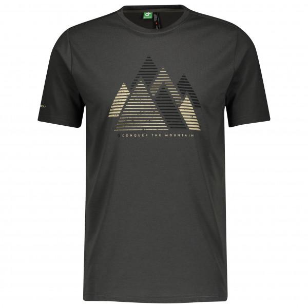 Scott - Shirt Defined Dri Graphic S/s - Sport Shirt Size Xxl  Black