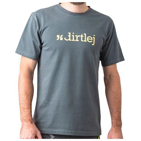 Dirtlej - T-shirt - T-shirt Size Xxl  Grey/black