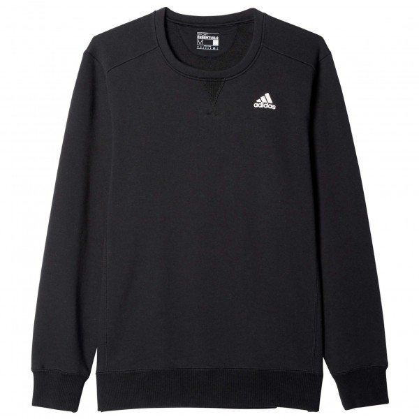 Sport Essentials Crew Brushed - Pullover Gr L schwarz