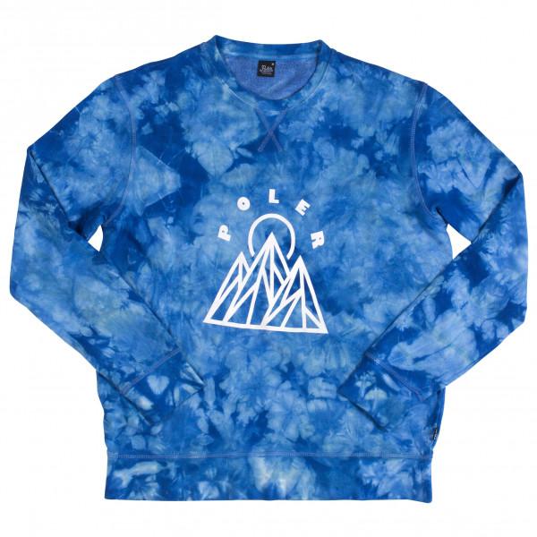 #Poler – Mountain Crew – Pullover Gr M blau#