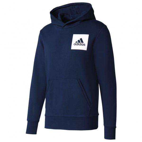 adidas - Essentials Chest Logo Pullover Hood Fleece Hoodie Gr L;M;S;XL;XXL grau/weiß;blau/schwarz