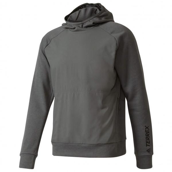adidas Terrex Climb The City Wool Hoodie Hoodie maat 52 zwart-grijs
